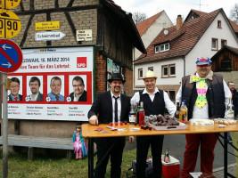 Frammersbacher Faschingszug mit Tino Mill und Harald Merz