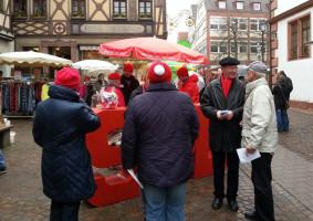 Infostand in Lohr