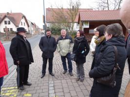 Ortsbegehung in Wiesenfeld