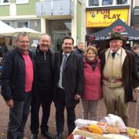 Besuch aus Orbec am Holzmarkt