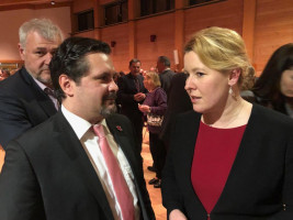 Treffen mit Bundesministerin Dr. Franziska Giffey