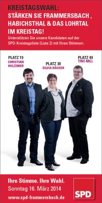 Frammersbacher Kreistagskandidaten